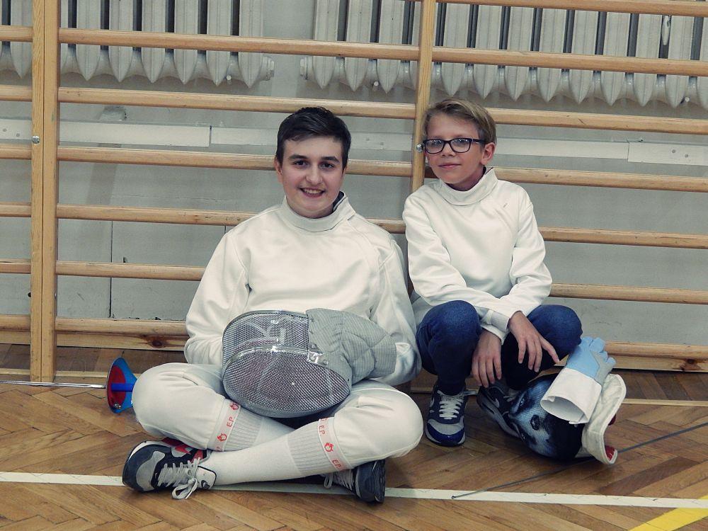 Turniej treningowy - Mikołaj i Michał