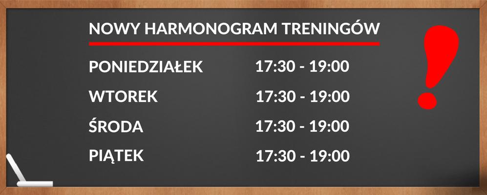 Treningi szermiercze 2017/2018