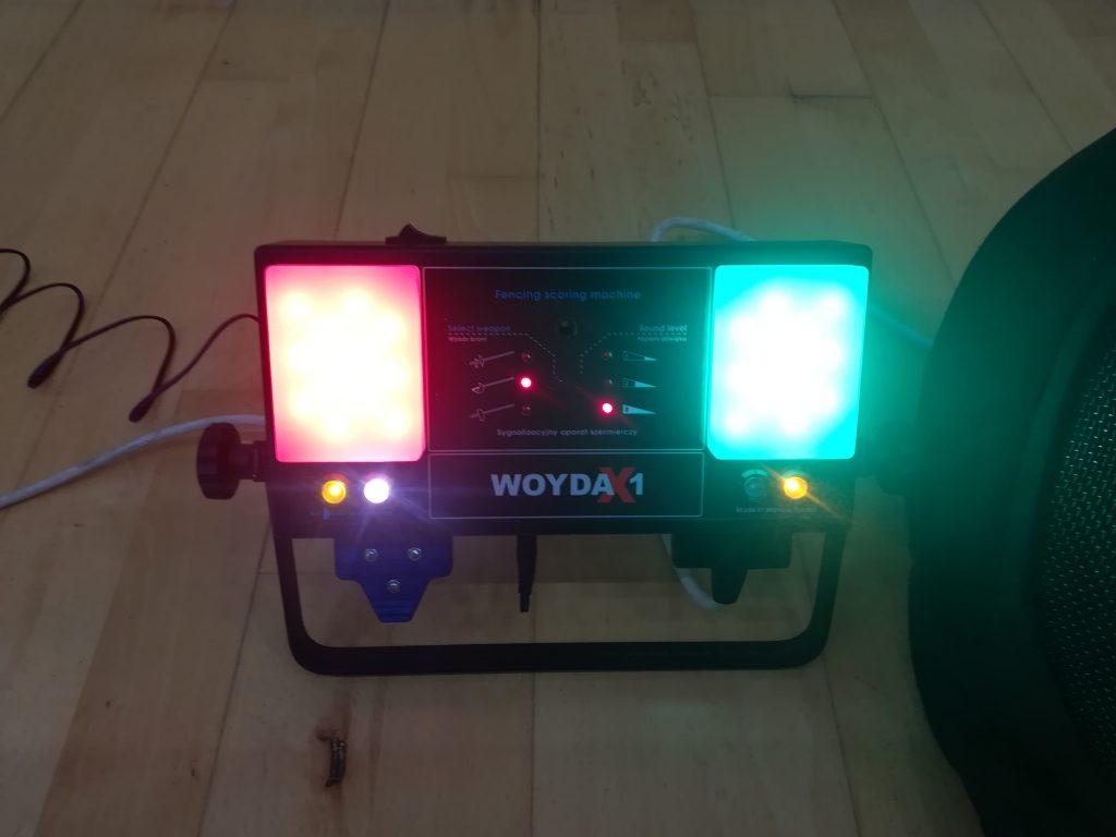 Woyda X1 - aparat do rejestracji trafień